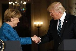 Merkel-Trump Ketemu, Diwarnai Canggung dan Tetap Tegang ...