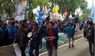 demo depan pmk