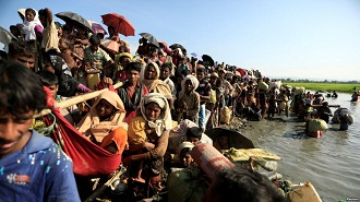 rohingnya eksodus ke bangladesh
