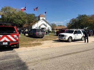 penembakan gereja texas