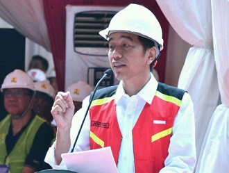 Jokowi rel ganda sukabumi