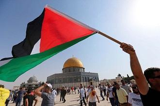 palestina bendera quds