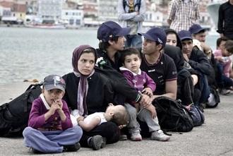 pengungsi suriah di yunani
