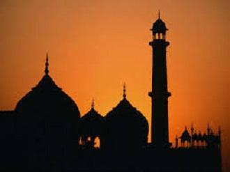 masjid ilustrasi