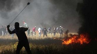 warga gaza lawan israel