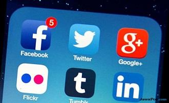 media sosial prancis