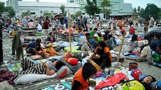 pengungsian palu