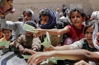 warga yaman kelaparan