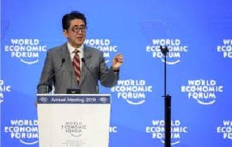 abe world economic forum