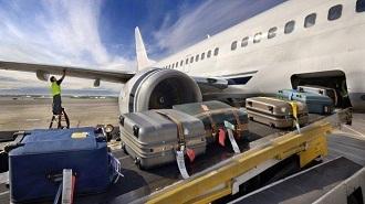 bagasi pesawat ilustrasi