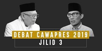 debat cawapres 2019 3