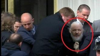 julian assange ditangkap