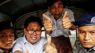 dua wartawan myanmar