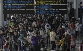 pemudik bandara soetta