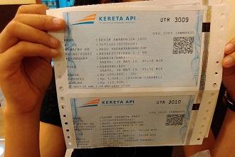tiket kereta api 1